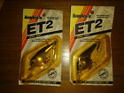 Bagley's ET2 Fishing Lures, (2) Lures Tennessee Shad & Black on Silver