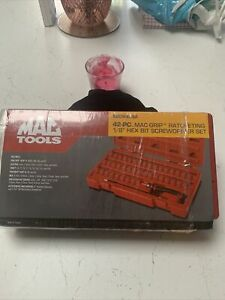 Mac Tools Mac Grip 42 Pc 1/8 Ratcheting Screwdriver Set