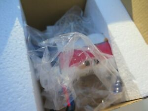 Cow Parade Mooma #9175 Real Spinning Wheel On Back. Retired In Box With Tags