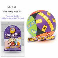 D Zine Solve A Ball Puzzle Twist Turn Spin Slide Brain Teaser Fun Gift