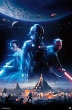 STAR WARS BATTLEFRONT II - KEY ART POSTER - 22x34 VIDEO GAME 16519