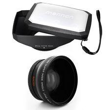 52mm 16:9 Hood,Wide Angle Lens for Nikon AF-S 18-55 f/3.5-5.6,AF 24mm f/2.8,NEW