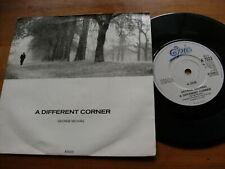 "GEORGE MICHAEL 1986 A DIFFERENT CORNER 45 rpm VINYL SINGLE RECORD 7"""