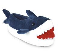Slumberzzz Mens Adults Novelty 3D Shark Slipper