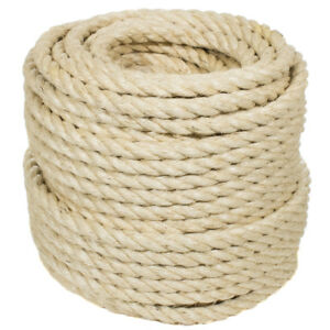 Sisal Rope - All Natural - Golberg - Safe for Cats - Many Diameters & Lengths