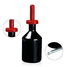60ml New Glass Amber Dropper Bottle Drop Reagent Vase Laboratory Glassware