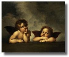 Two Raphael Cherubs #6 16x20 Raphael Wall Art Print Picture sku#16-1258