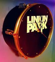Linkin Park *** Upcycled Drum Clock