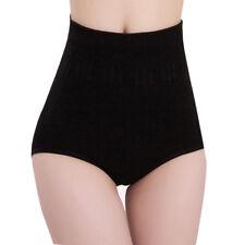 Womens Cotton Briefs High Waist Tummy Control Body Shaper Slimming Pants Hot Pink