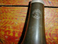 VINTAGE SCHREIBER AND SOHNE CLARINET BELL GERMANY MID CENTURY