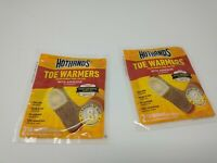 HotHands TT7PRPK Toe Warmers 4 Pairs 8 Hours of Natural Warmth Made in USA FS