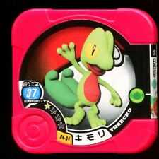 "POKEMON JETON COIN CARRE ""COUNTER"" - N° 04-34 Treecko キモリ"