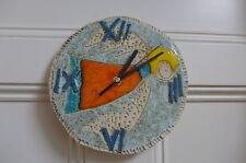 Clock Handmade Ceramic Wall Clock Beautiful Angel Design Wall Art Unique