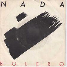 "Nada Vinile 45 giri 7"" Bolero / Bolero (Instrumental) Nuovo SP1850"