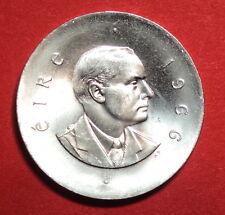 IRELAND: IRISH TEN SHILLING COIN 1966. UNC. P.H.PEARSE.  0.8333 SILVER.