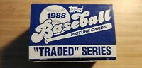 1988 Topps Traded Update Set ROBERTO ALOMAR RC 132 Card Set+ Stickers HOF