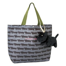 2016 Japan Brand TSUMORI CHISATO Handcarry Shopping Bag with Black Cat