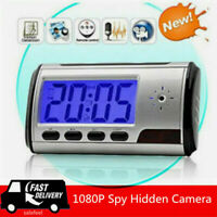HD 1080P Hide Camera Wireless Wifi IP Motion DVR Security Alarm Clock IR Cam DV
