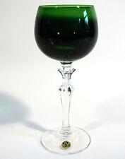 Peill Glas Römer Grün Bleikristall Überfangglas Peill& Putzler Düren