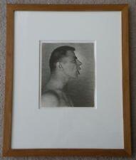 GEORGE PLATT LYNES, TED STARKOWSKI, 1940s GELATIN SILVER PRINT 9.2x7.5 STAMPED