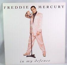 "QUEEN, FREDDIE MERCURY, IN MY DEFENCE c/w LOVE KILLS on 7"" vinyl-FREE SHIPPING-"