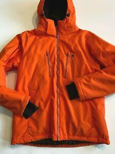 Liquid Jacket Men's Medium Insulated Tangerine Waterproof Ski/Snow Coat