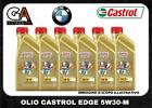 Olio motore castrol edge 5w30 M longlife 04 bmw mercedes acea c3 6 litri