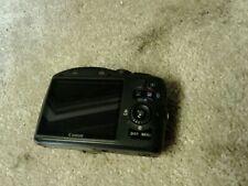 Black Canon PowerShot SX130 IS 12.1MP Digital Camera Point & Shoot 12x Opt Zoom