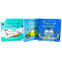 Usborne Touchy Feely Robot Car Plane 3 Children Board Books By Fiona Watt