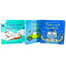Usborne Touchy Feely Robot Car Plane 3 Books Set NEW