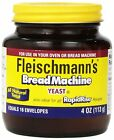 Fleischmann's Yeast for Bread Machines 4-ounce Jars (Pack of 1)