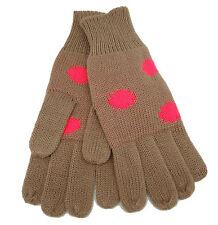 Codello 32098312 Poetry GRUNGE lavorato a maglia guanti marrone NUOVO [24]