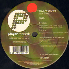 SOUL AVENGERZ - 100% - Featuring Shena - Player Records