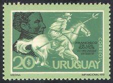 Uruguay 1973 Horse/Courier/People/Postal Transport/Mail 1v (n32196)