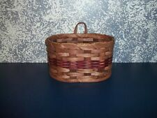 AMISH COUNTRY COLLECTIBLE LARGE KEY BASKET