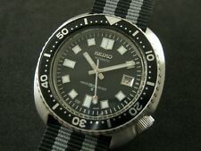 "BIG CUSHION VINTAGE SEIKO DIVER ""6309-7040"" MODIFIED - 6105 DIAL & HANDS 0N0861"
