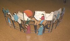 FIREPLACE GATE CACTUS AND SOUTHWESTERN THEME METAL OR GARDEN ACCESSORY