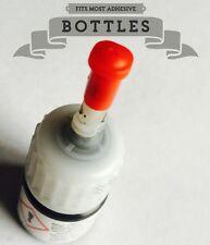 CAP 4pcs~ Eyelash Extension Glue Lash Adhesive Clog-Free Bottle in Nozzle TOP