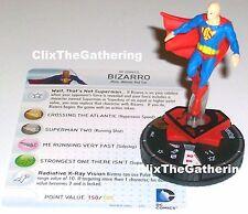 BIZARRO(red son) #064 Superman Wonder Woman DC HeroClix Chase Rare