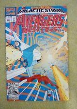 Avengers West Coast #82 (May 1992, Marvel) 9.2 NM-