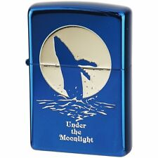 ZIPPO Lighter Under the Moon light Whale 2UM-WHA  Best Buy  from Japan