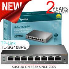 Commutateurs réseau TP-LINK pour réseau d'entreprise et serveur avec 8 ports lan