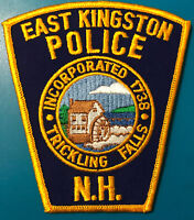 East Kingston New Hampshire Police Patch