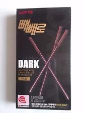 LOTTE Pepero Pocky Biscuit Sticks Dark 36g Snack korea