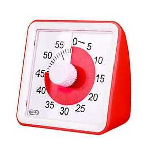 OzCozy Visual Analog Timer, Silent Countdown Clock, Time Management Tool For Kid