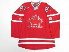 SIDNEY CROSBY TEAM CANADA 2010 VANCOUVER OLYMPICS NIKE HOCKEY JERSEY SIZE XL