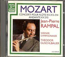 MOZART - Flute Concertos 1 & 2 / Andante - Jean Pierre RAMPAL / GUSCHLBAUER
