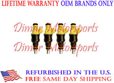 OEM BOSCH Fuel Injector Set of 4 FITS 1987-1988 SAAB 9000 S HATCHBACK 2.0L
