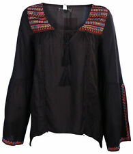Billabong Rayon Long Sleeve Tops & Blouses for Women