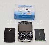 Mint Used BlackBerry Bold 9930 Unlocked Verizon GSM 8GB Black Qwerty Smartphone.